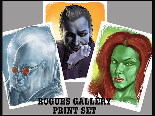 Rogues Gallery Print Set