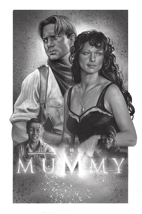 The Mummy Print