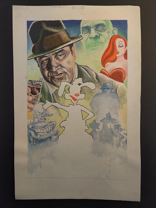 """""""Who Framed Roger Rabbit?"""" Raw Art"""