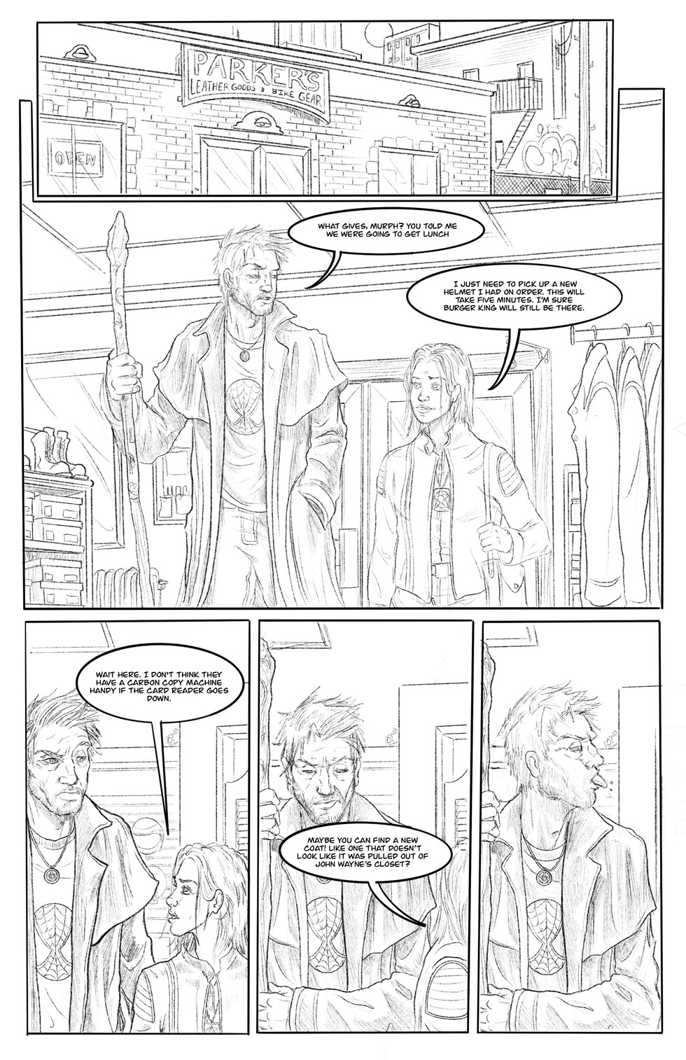 """Hats Off"" Pg01 Pencils"