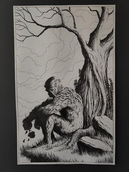 Swamp Thing Original Art