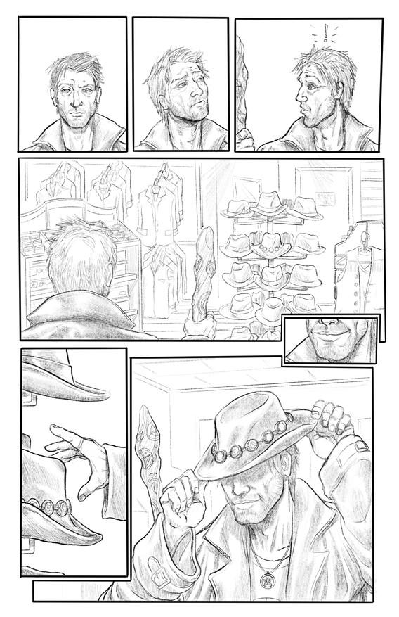 """""""Hats Off"""" Pg02 Pencils"""