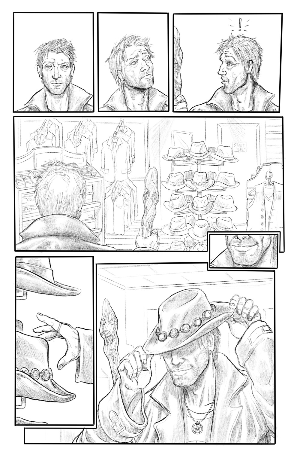 """Hats Off"" Pg02 Pencils"