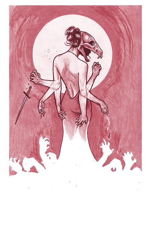 """Miss Revelation"" Print"