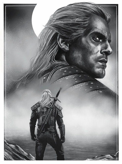 The Witcher Print