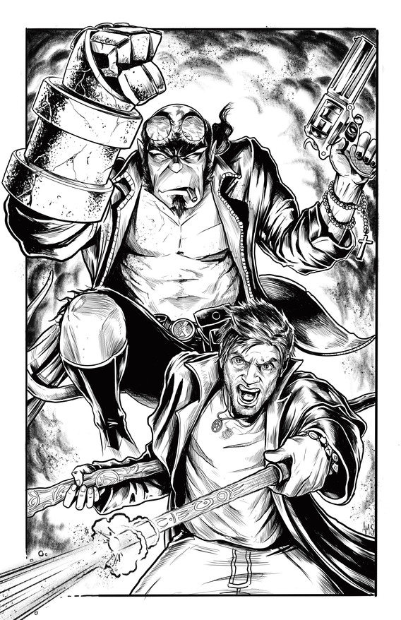 Harry and Hellboy