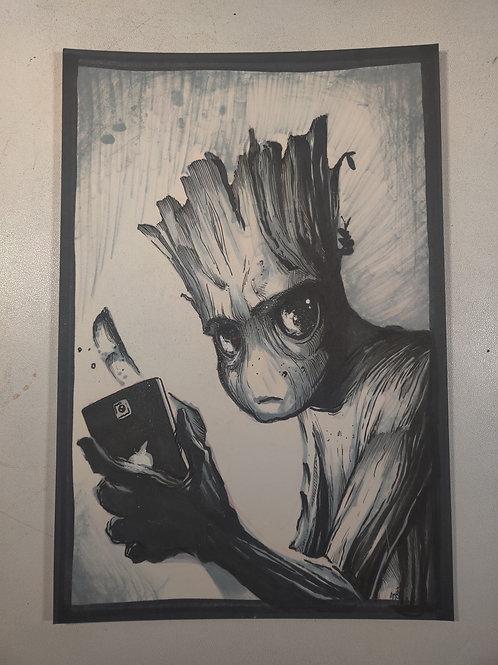 Groot Original Illustration