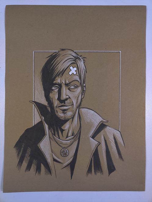 Harry Dresden Original Illustration
