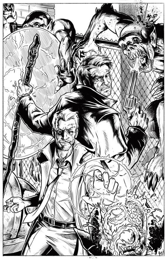 Harry and John Constantine