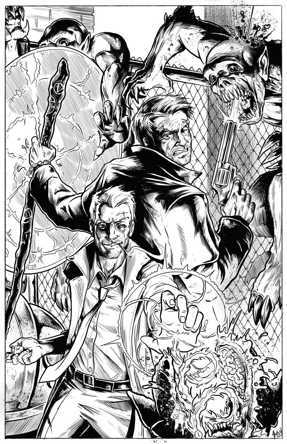 Harry and John Constantine