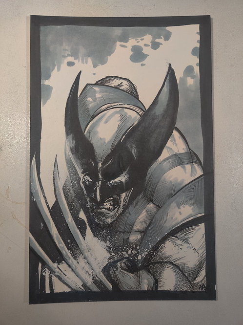 Wolverine  Original Illustration