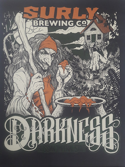 Surly Darkness 2017 Variant Print
