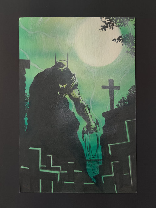 The Bat in the Graveyard