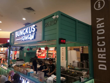 Bungkus Kaw Kaw @ Wangsa Walk Shopping Mall
