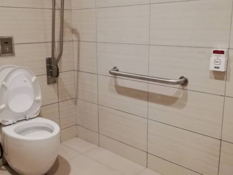 Disable Toilet @Somerset Hotel