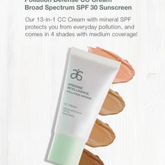 Arbonne Pollution Defense CC Cream Broad Spectrum SPF 30 Sunscreen