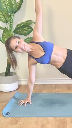 Side Plank Virtual Personal Training