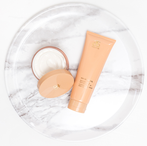 Arbonne RE9 Firming Body Cream and Retexturizing Serum in Lotion