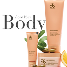 Arbonne Love Your Body Collection