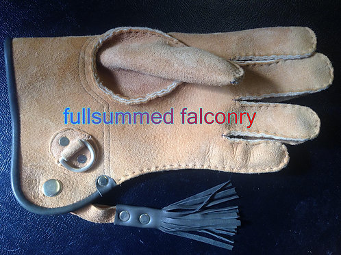 Falconry Gloves Hand Sewn