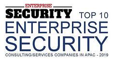 Top 10 Enterprise Security - 2019 Logo s
