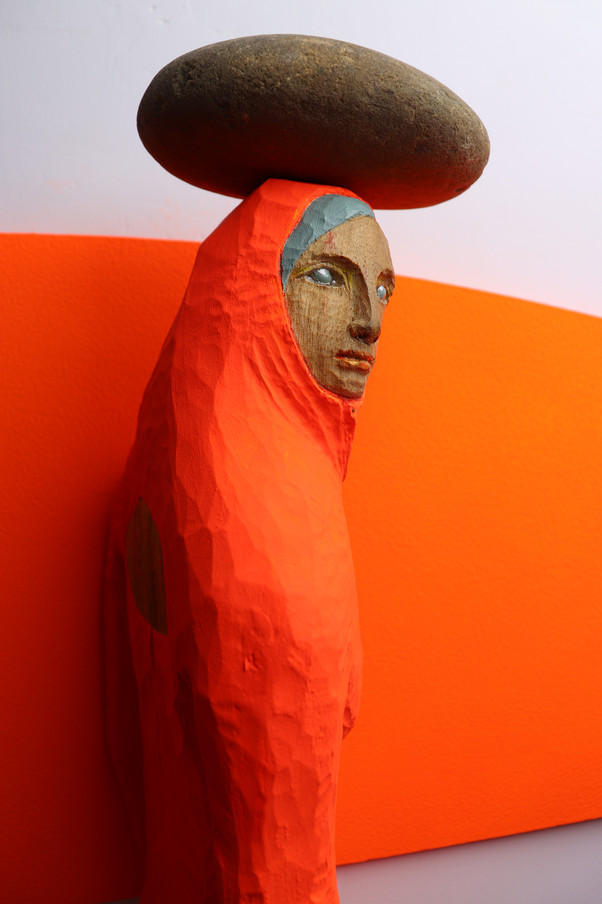 Chromakey sculpture : About Stone