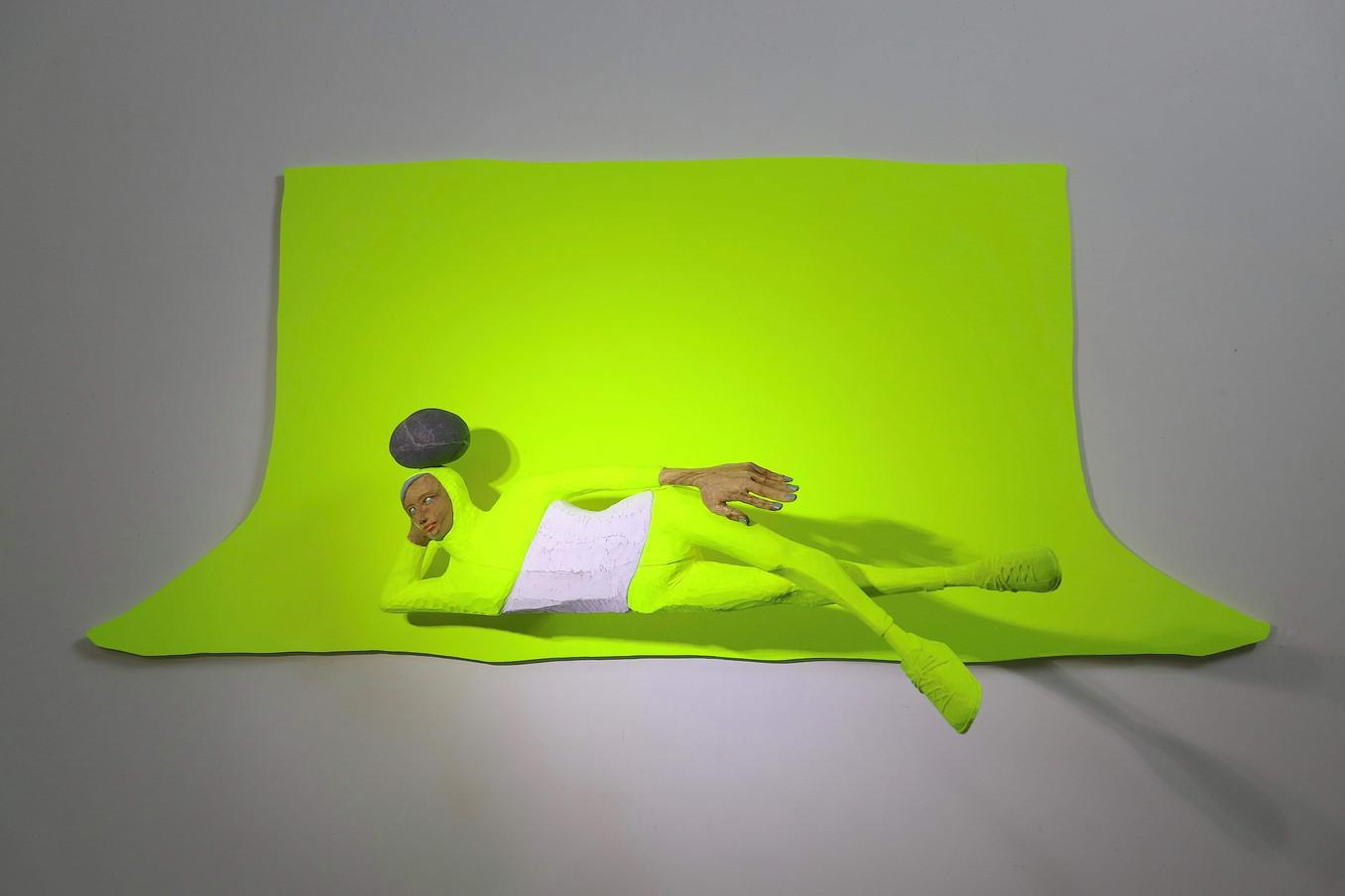 Chromakey sculpture : Nirvana