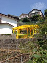 Fisherman's yellow hut