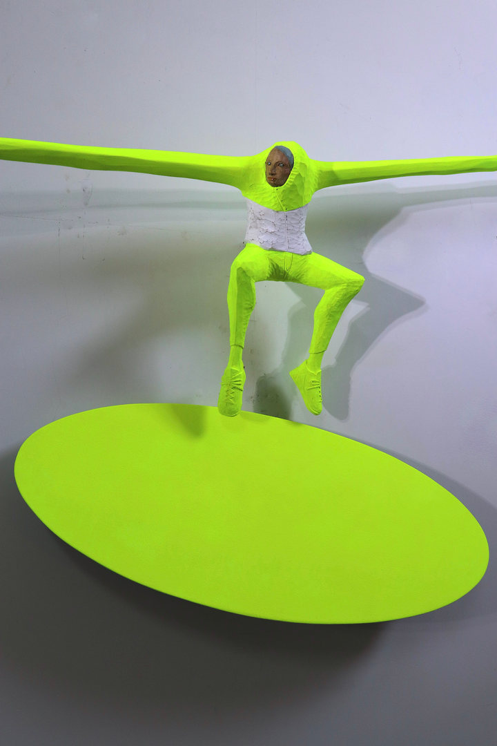 Chromakey sculpture : How to fly