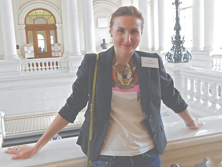 Елена Троц выступала на конференции в Санкт-Петербурге