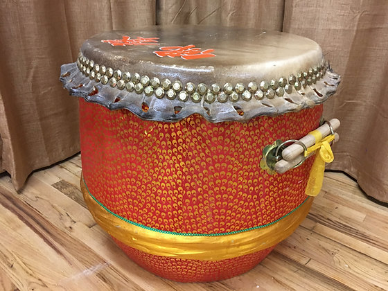 "26"" Kung Fu / Southern Lion Dance Drum"