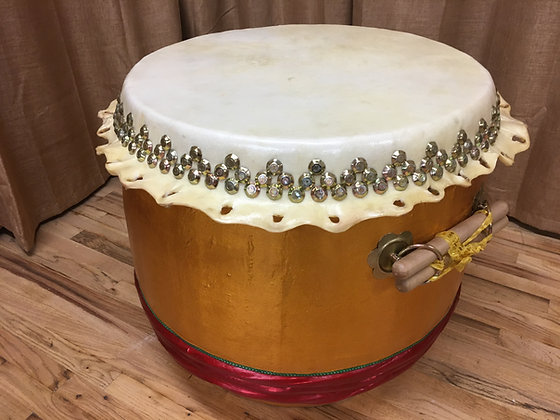 """26"""" Kung Fu / Southern Lion Dance Drum"""