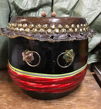 """16"""" Kung Fu / Southern Lion Dance Drum"""