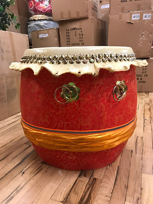 "23"" Kung Fu / Southern Lion Dance Drum"