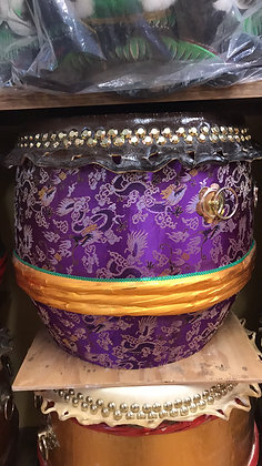 """23"""" Kung Fu / Southern Lion Dance Drum"""