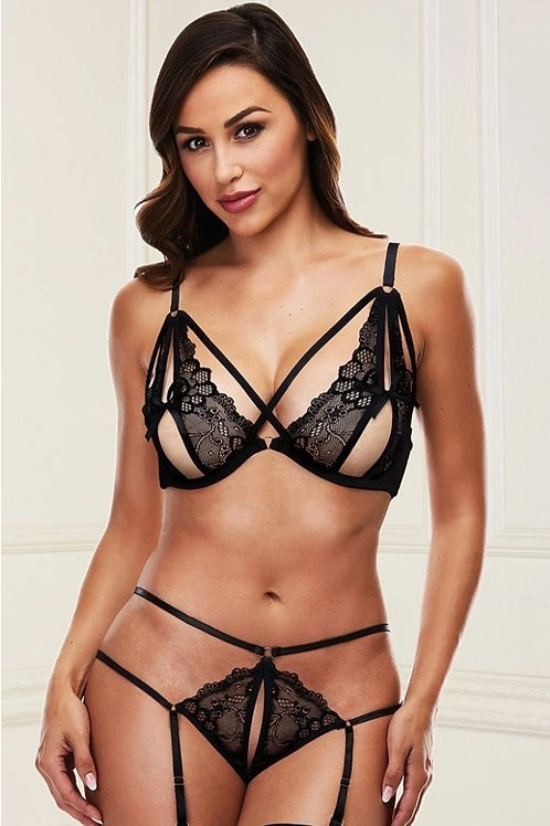 Key to the Cage Bralette & G-String