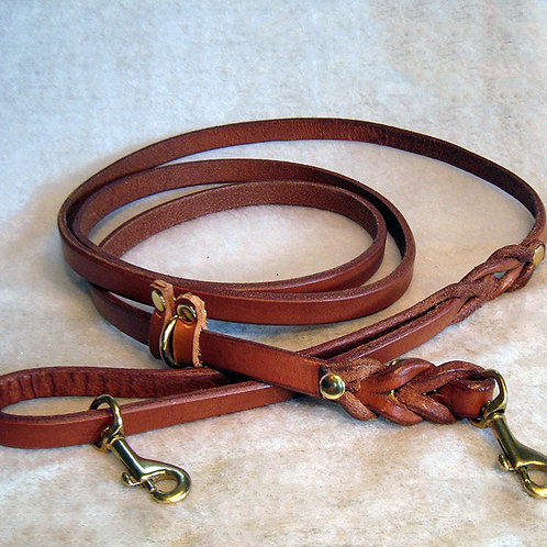 6' Brown Trainer Leash