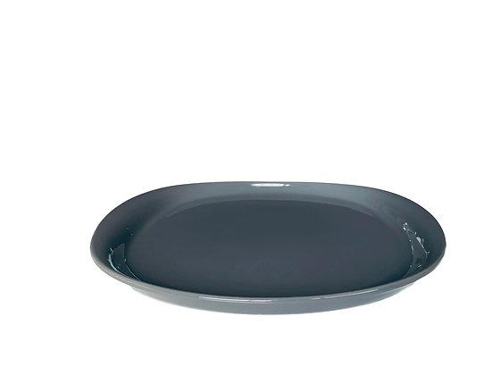 NAOTO Plate 25 cm Dark Gray  (4 units)