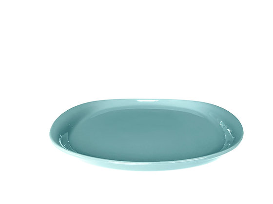 NAOTO Plate 25 cm Ice Blue  (4 units)
