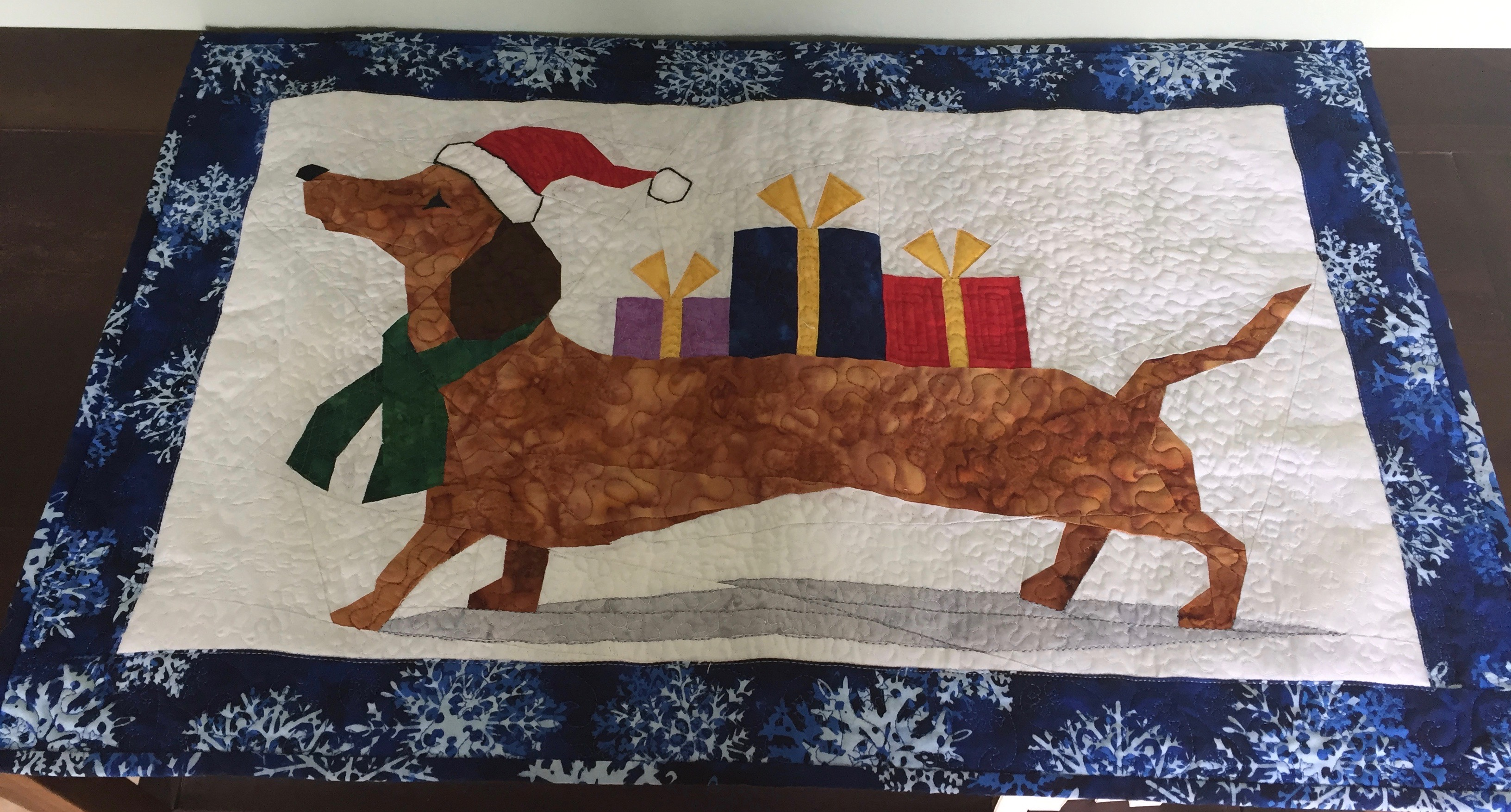 Doxie Wall hanging