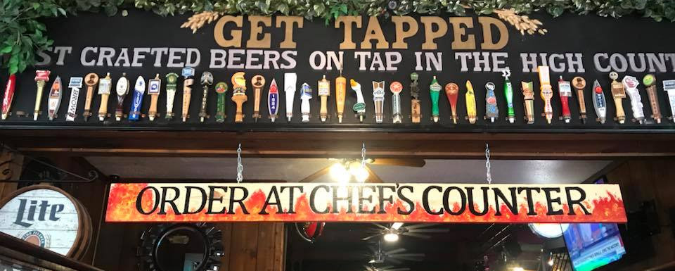MANY BEERS ON TAP