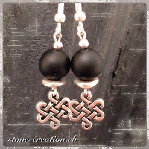 """Silber-Ohrring """"Ewigkeit"""""""