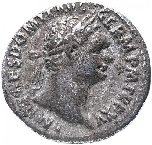 Римская империя, Домициан, 81-96 годы, денарий.