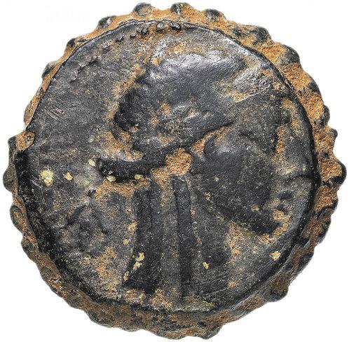 Селевкиды. Селевк IV Филопатор. 187-175 д.н.э., Серративный АЕ22. Seleukos AE