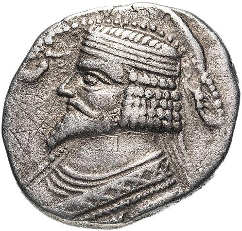 Парфянское царство, Фраатак, 2 год до Р.Х.-4 год, тетрадрахма.