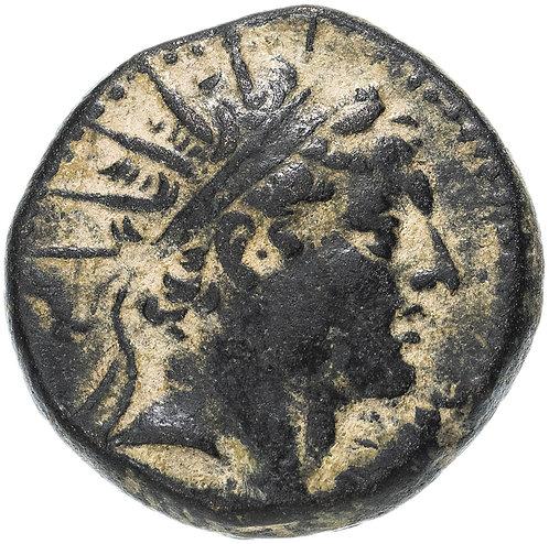 Государство Селевкидов, Антиох IV Эпифан, 175-164 годы до Р.Х., АЕ19. (Эдесса)