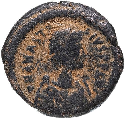 Византийская империя, Анастасий I, 491-518 годы, Полфоллиса.