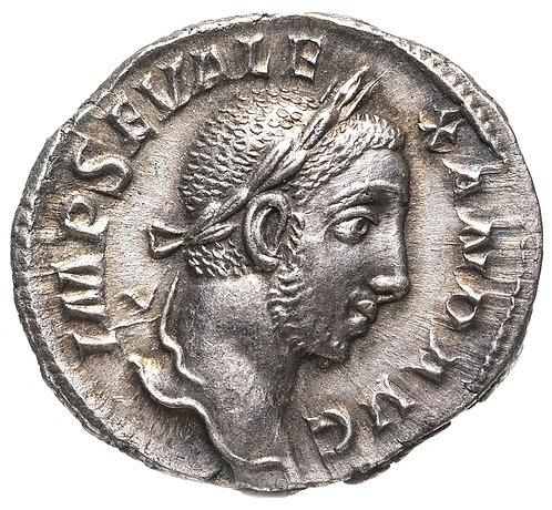 Римская империя, Александр Север, 222-235 годы, Денарий. (Абунданция) Alexander