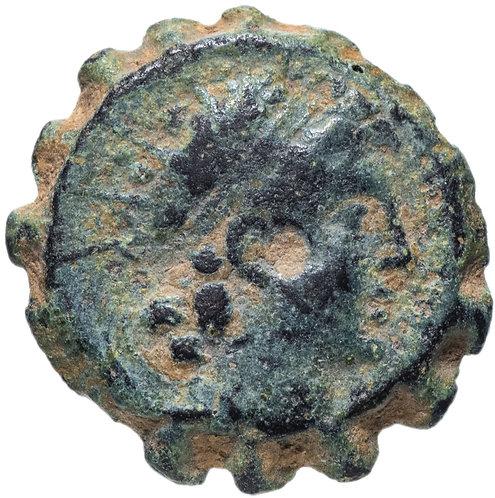 Селевкиды, Антиох VI Дионис Эпифан, 144-142 годы до Р.Х., АЕ18. (Пантера)