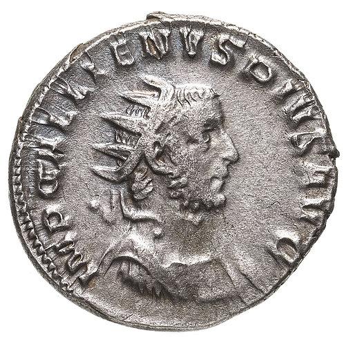 Римская империя, Галлиен, 253–268 годы, антониниан.(Виктория)